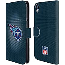 Official NFL LED 2017/18 Tennessee Titans Leather Book Wallet Case Cover For HTC Desire 820