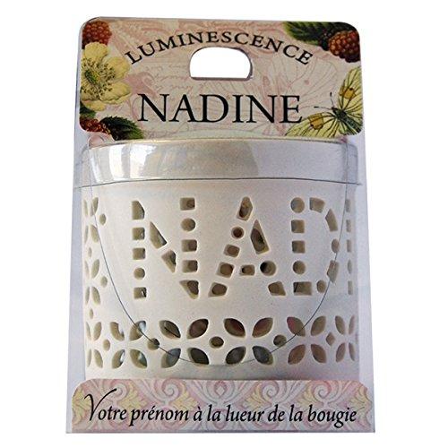 LA CARTERIE 76009095 Nadine Windlicht, für Teelichter, Porzellan, 11,1x 7x 7cm, Weiß 3