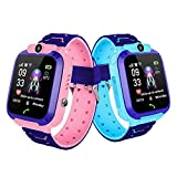 DokFin Kids Smartwatch, Waterproof Wrist Smart Phone Watch GPS Waterproof Anti Lost Heart