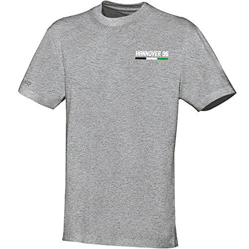 Jako Hannover 96 T-Shirt Basic grau grau melange, S