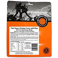 Expedition Foods Thai Green Chicken Curry with Rice (800kcal) - Freeze Dried Meal 3