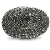 Tuffguy Topfkratzer, Stahlwolle verzinkt, große Ausführung, 60g, 10Stück