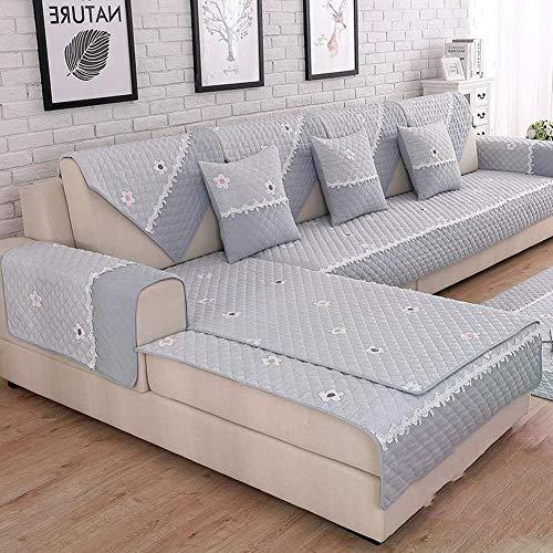 Ganzjahresübergreifender Möbelschutz und Schonbezug aus Baumwolle für Haustiere, Kinder, Hunde - 1 Stück - 110 x 110 cm (43 x 43 Zoll) -
