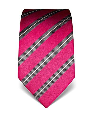 vb-mens-silk-tie-striped-many-colours-availablefuchsia