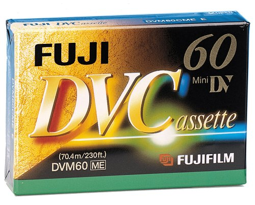 Fuji DVC Mini DV-Videocassette (60 Min) Fuji Digital-camcorder