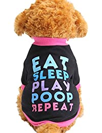 SAMGU Puppy Sweatshirt chaud Petit Chien Chat Vêtements Gilet T-shirt Costumes