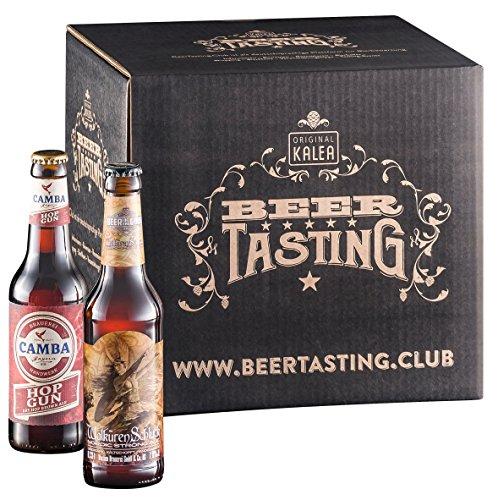 Kalea Biere der Welt - Geschenksbox (12 x 0.33 l)