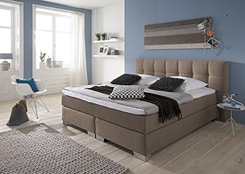 Designer Boxspringbett Home, Made in Germany, Tonnentaschenfederkern in der Box