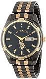 Best U.S. Polo Assn. Of 2 Tones - U.S. Polo Assn. Classic Men's USC80047 Two-Tone Watch Review