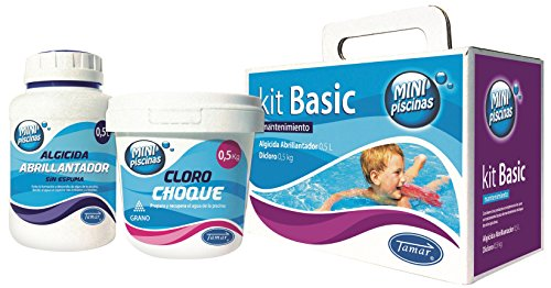 Tamar - Basic Kit Maintenance Mini Pools, Special for swimming pools Liner.
