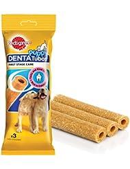 Pedigree Denta Tubos Oral Care for Puppy Dog, Chicken, 72 g (3 Sticks)