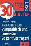 Expert Marketplace -  Klaus-Jürgen Deuser  - 30 Minuten Sympathisch und souverän: So geht Vortragen!