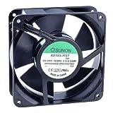 Sunon Lüfter 120x120x38mm A2123HST AC 230V 2700 U/min 44dBA Gleitlager Flachstecker