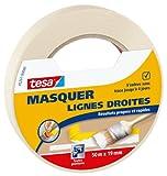Tesa 05261-00000-00 Masquer Lignes Droites Résultats Propres et Rapides 50 m x 19 mm