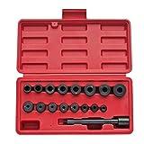 Kit universal de alineamiento de embrague 17piezas para Aligner cortaúñas y précisemment el volante y el disco de embrague