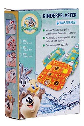 Sensiplast Kinderpflaster Zeichentrickmotive Wasserfest Grün