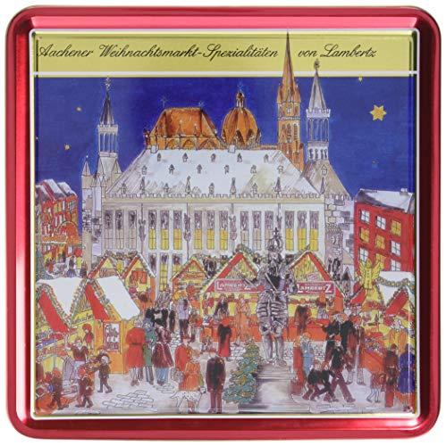 """Lambertz Lebkuchenmischung Dose \""""Weihnachtsmarkt\"""", 1er Pack (1 x 1 kg)"""