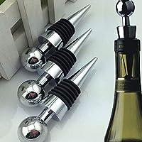 Best Price for Bottle Stopper - Metal Bottle Stopper Wine Storage Twist Cap Plug Reusable Vacuum Sealed P0.21 - Lights Crystal Disney Parts Stand Wine Velvet Threaded Black Garden Gift Screw Funny Star D - Good - Professional - Cheapest - Bot...