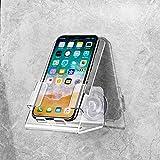 Heavfyj Universel de Cuisine de Salle de Bain Ventouse Support Support pour téléphone Portable pour iPhone Samsung Huawei-Transparent