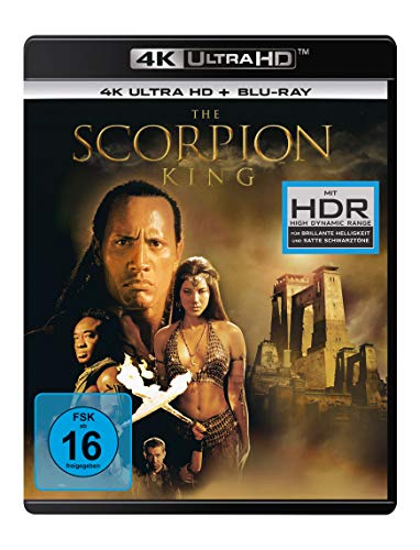 The Scorpion King (4K Ultra HD) (+ Blu-ray 2D)