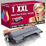 Kompatible Toner TN-2010 TN-2220 für Brother DCP-7055 DCP-7055W DCP-7057 DCP-7060D DCP-7060N DCP-7065DN DCP-7070DW HL-2130 HL-2130R HL-2132 HL-2132R HL-2135W HL-2140R HL-2200 HL-2215 HL-2220 HL-2230 HL-2240 HL-2240D HL-2240DR HL-2240L HL-2240 HL-2250DN HL-2250DNR HL-2270DW HL-2275DW HL-2280DW MFC-7360N MFC-7360Ne MFC-7362N MFC-7460DN MFC-7470D MFC-7860DN MFC-7860DW Fax-2840 Fax-2845 Fax-2940 Fax-2950 ms-point® (1x Black)