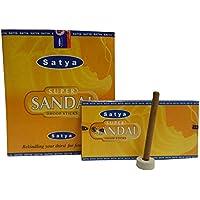 Dhoop Sticks Satya Super Sandal 120 Räuchersticks 12 Schachteln mit Halter Wohnaccessoire Raumduft Aroma preisvergleich bei billige-tabletten.eu