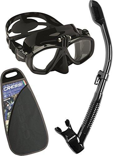 Cressi Action&Dry Kits Máscara Tubo