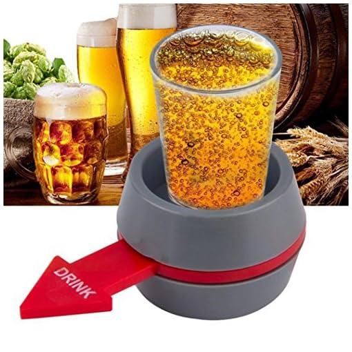 Party-Trinkspiel-Huihong-tragbare-Spin-the-Shot-Trinkspiel-Schnapsglas-Spinner-fr-Home-Party-Bar-Trinkspiel