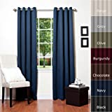 Best Home Fashion Thermal Insulated Blackout Curtain - Antique Bronze Grommet Top - Best Reviews Guide