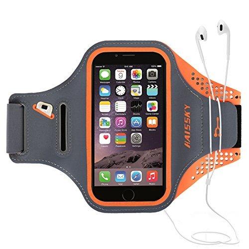 Handyhülle for iPhone 6 plus/7 plus/8 plus, Sport Armband with Kredit Karten Halter, Kompatibel mit Samsung, Galaxy, Huawei, Ideal für Joggen Laufen Wandern Radfahren ()