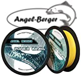 Angel Berger Power Braid Geflochtene Schnur 100% Dyneema (0.14mm gelb)