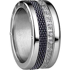 BERING Ring Petersburg aus Edelstahl mit Zirkonia