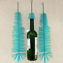 EMVANV Cepillo de limpieza para botellas de vino, cerveza, hogar, tubo de cerveza