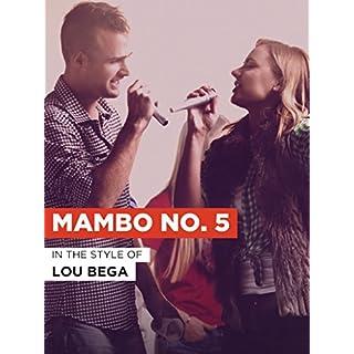 Mambo No. 5 im Stil von