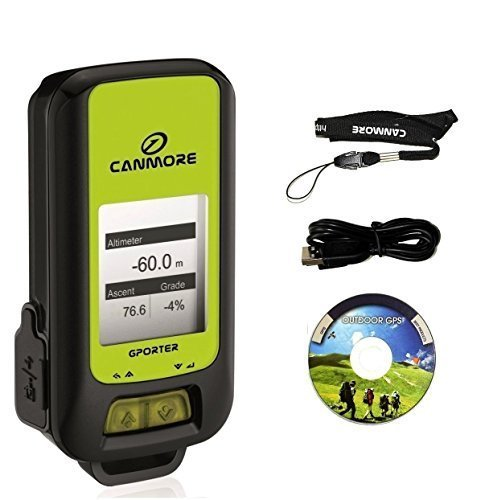 Canmore G-PORTER GP-102+ Multifunction GPS Device/ Data Logger 1