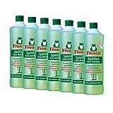 7x Frosch Spiritus Glas-Reiniger 1 Liter