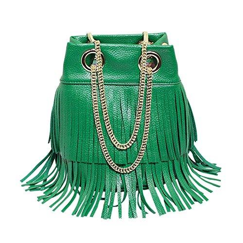 Remeehi, Borsa tote donna Green