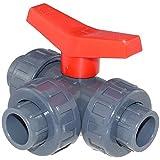 PVC Kugelhahn 3 Wege L-bohrung 63 mm