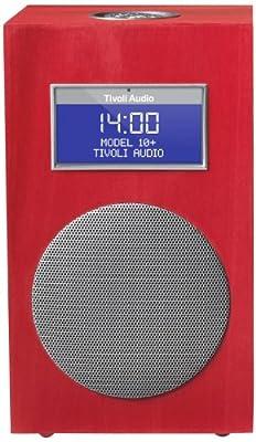Tivoli M10-1132-EU Model 10+ DAB+/UKW - Radiosveglia, colore rosso carminio in offerta da Polaris Audio Hi Fi