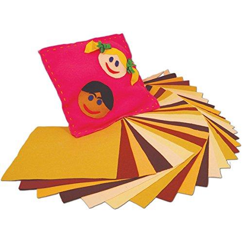 SPRINGBOARD 70032Multikulturelles Filz Squares 23cm