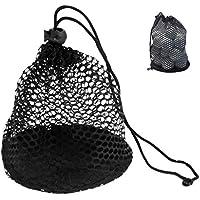 Yundxi Nylon Netztasche Golf Tennis Bälle Tragetasche Tennisbälle Mesh Pack Golfbälle Tasche Aufbewahrungstasche Netzbeutel