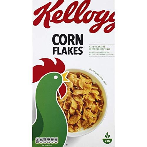 Kellogg'S - Corn Flakes - 500G - Lot De 4 - Vendu Par Lot - Livraison Gratuite En France