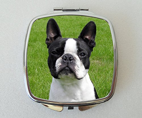 Starprint Sublimation Terrier de Boston Miroir Compact Fantaisie Cadeau