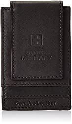 Swiss Military Leather Black Mens Wallet (LW35)