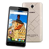 "Cubot Max - 4G Smartphone Libre Android 6.0 (Pantalla 6.0"", MT6753 Octa-Core 1.3GHz, 3G Ram, 32G Rom, Dual Sim, Dual ID, Captura Gesto, HotKnot) (Dorado)"
