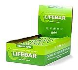 lifefood lifebar plus - Chia, Junge Gerste, 15er Pack (15 x 47 g)