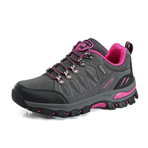 WOWEI Chaussures de Randonnée Outdoor Sports Promenades Trekking Sneakers pour Femme Hommes