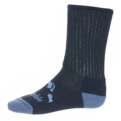 Bridgedale Woolfusion® Trekker Junior Socke Outdoor Bekleidung Eine Farbe, Marineblau, XL (Bridgedale Socke Trekker)