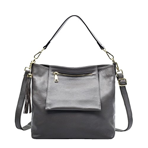 Mena UK-Femmes Casual Sac en cuir souple / Sac à bandoulière / Messenger Bag / Sac Shell / Wings Sac / Tassel Bag