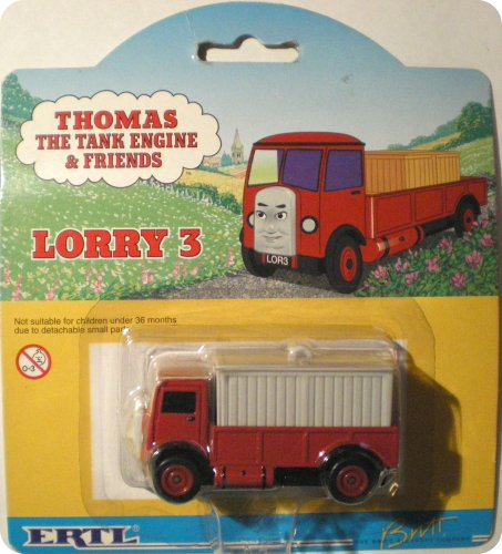 2000 Ertl Thomas The Tank Engine & Friends Lorry 3 Red/Gray - Thomas Tank Ertl The Engine